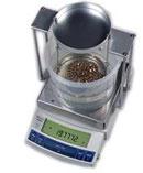 Пример гидростатического взвешивания спомощью весов CAS серии CUX/CUW